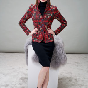 Blazer created for a power woman