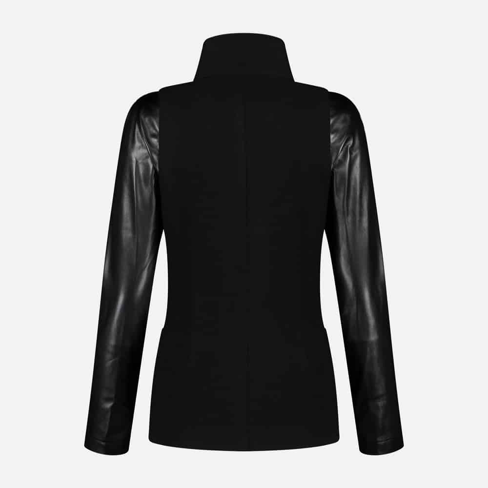mlcollections_ladies_blazer_jagger_leather_sleeves_black_70356-90